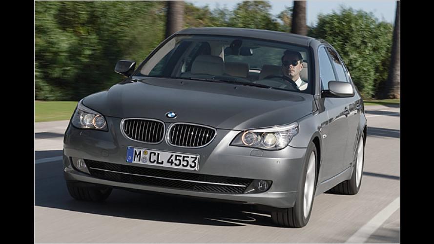 Business-Klasse: Neuer Diesel-Einstieg beim 5er-BMW