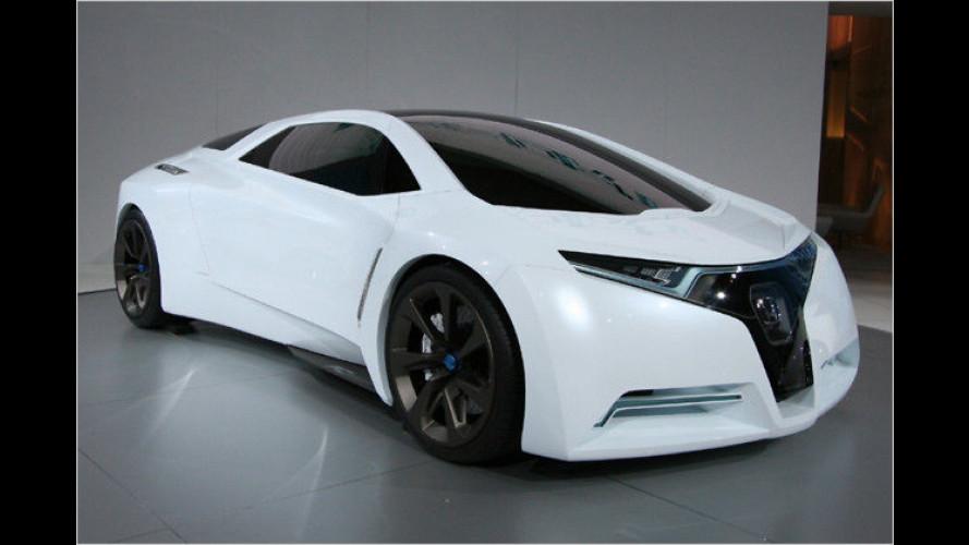Honda FC Sport: Sportwagenstudie mit Brennstoffzelle