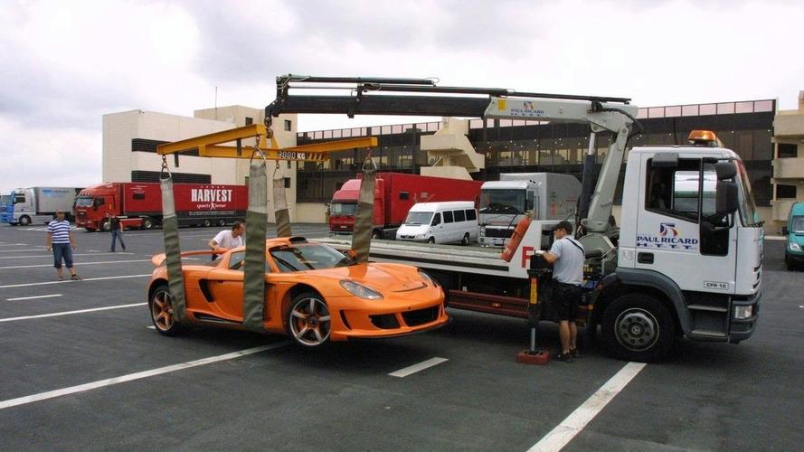 German Prince Marcus Crashes Gemballa Carrera GT