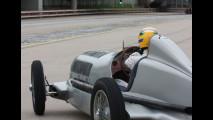 Hamilton al festival della velocità di Goodwood