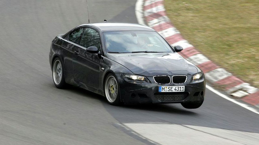 More BMW M3 Coupe and Sedan Spy Photos