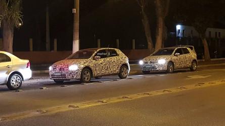 FLAGRA - Novo VW Polo 2018 perde camuflagem no Brasil