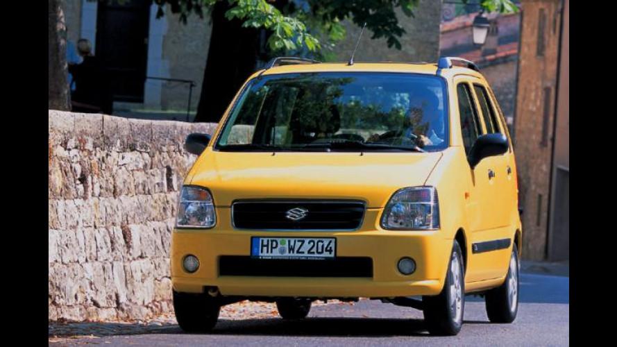 Suzuki-Sondermodelle mit Allradantrieb: 4x4 für 444 Euro