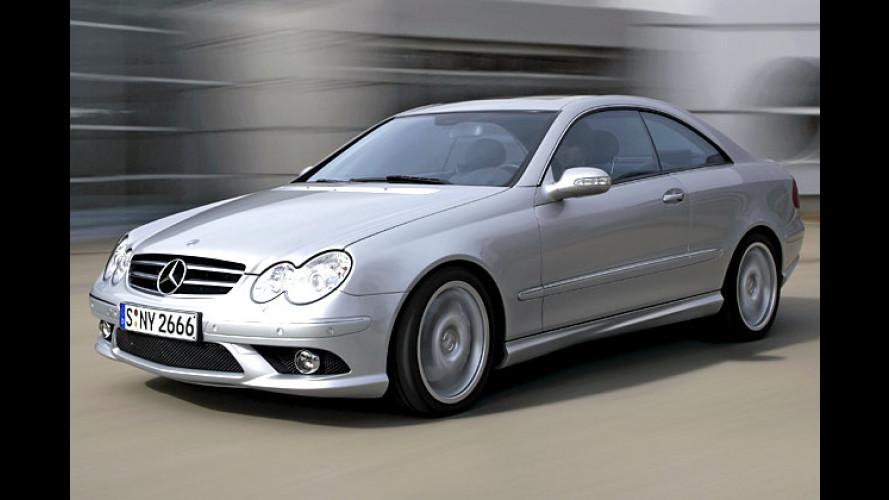 Mercedes CLK: Nun auch mit neuem AMG-Sportpaket