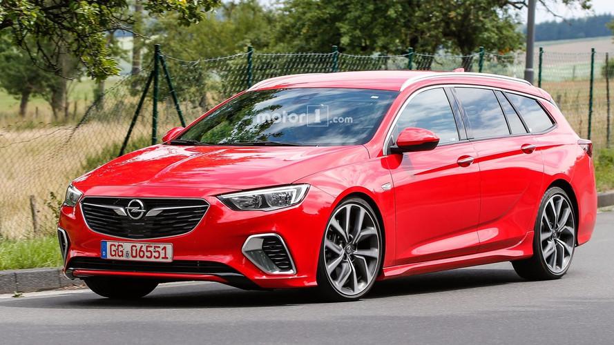 Opel Insignia GSi Sporst Tourer 2017, fotos espía sin camuflaje