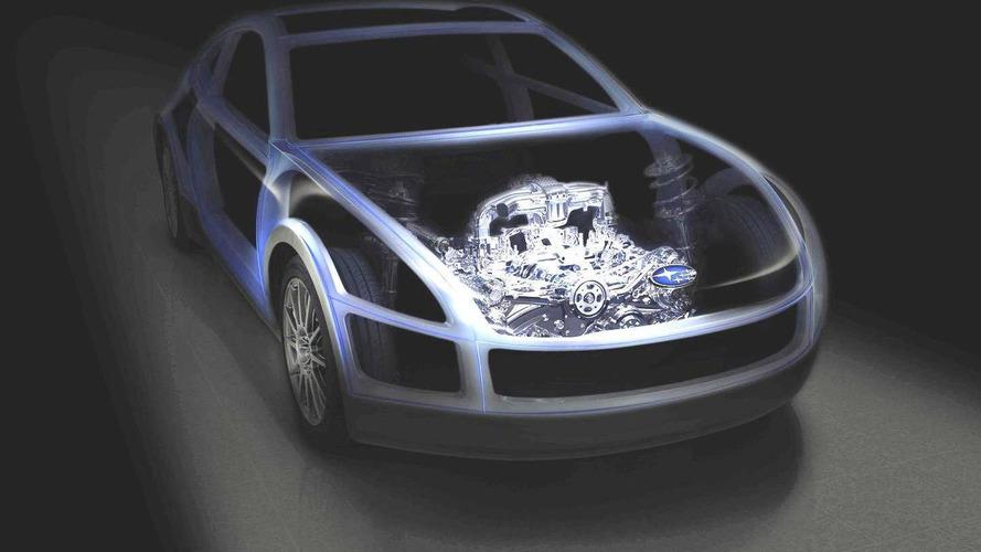 Subaru Boxer Sports Car concept teased