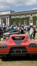1993 Ferrari FZ 93, Goodwood Festical of Speed 2010, 05.07.2010