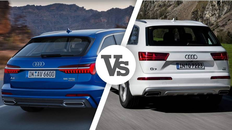 Nuova Audi A6 Avant, e se la rivale n°1 fosse la Q7?