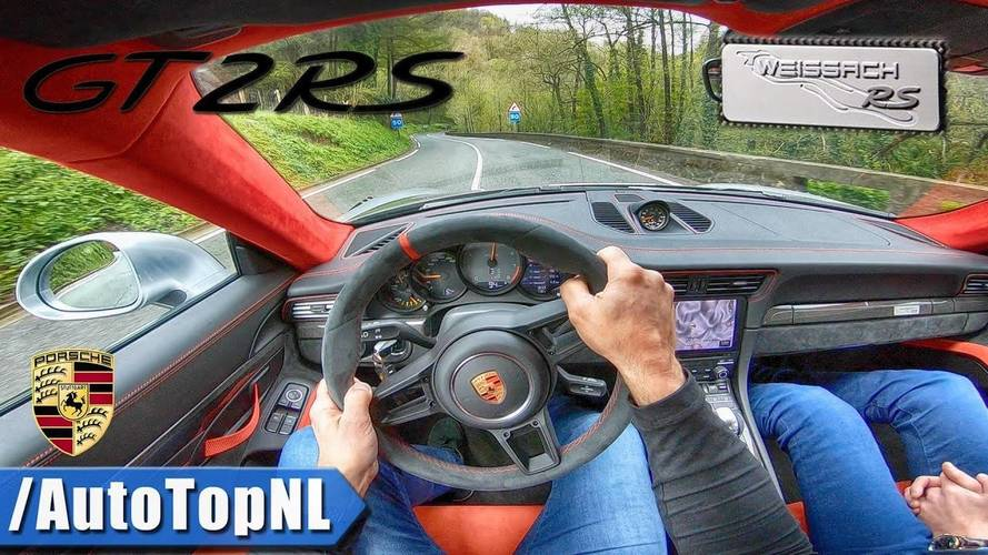 See What It's Like To Drive The Porsche 911 GT2 RS Weissach