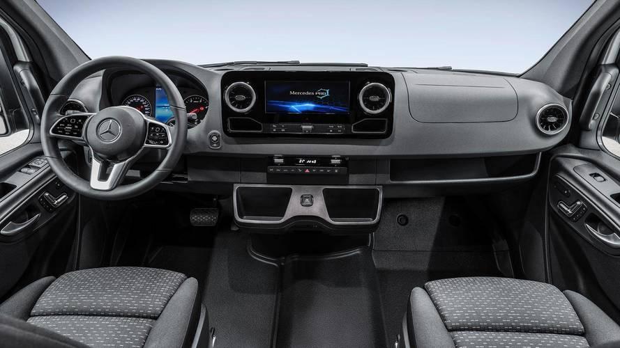 Mercedes reveals first look at next-gen Sprinter's fancy cabin