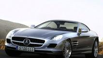 Artist impression - Mercedes AMG W 197 SLC