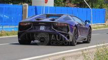 Lamborghini Aventador SV Roadster spied undisguised