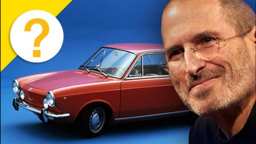 Steve Jobs ha posseduto una Fiat 850 Coupé con motore Abarth