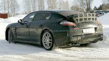 Porsche Panamera Entire Model Range Spied Together