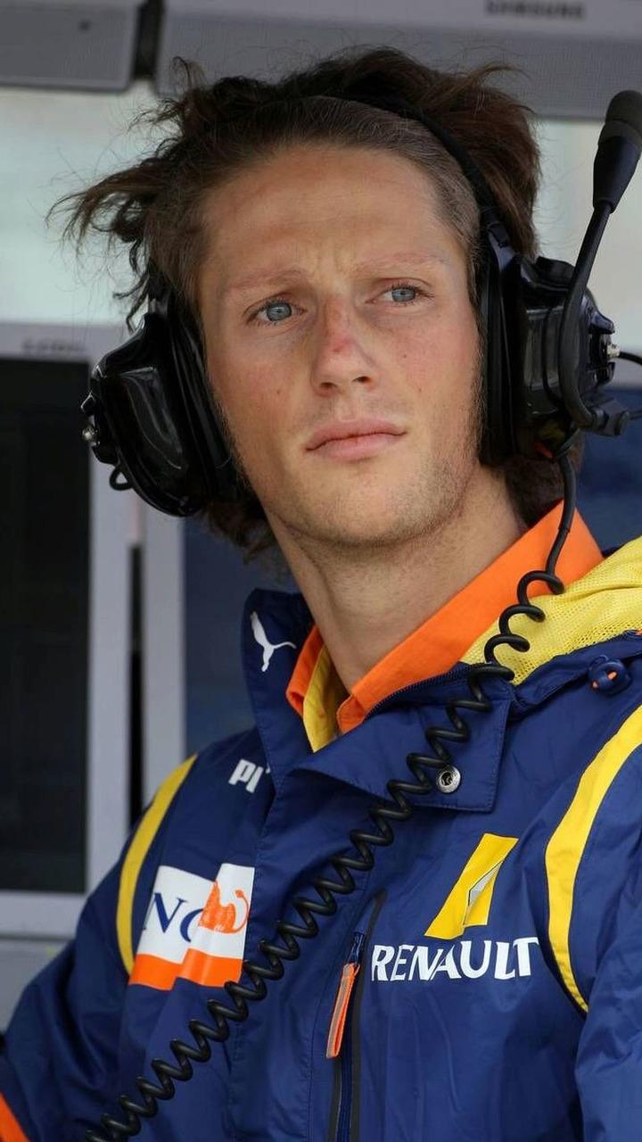 Romain Grosjean, Renault F1 Team test driver, Hungarian Grand Prix 25.07.2009