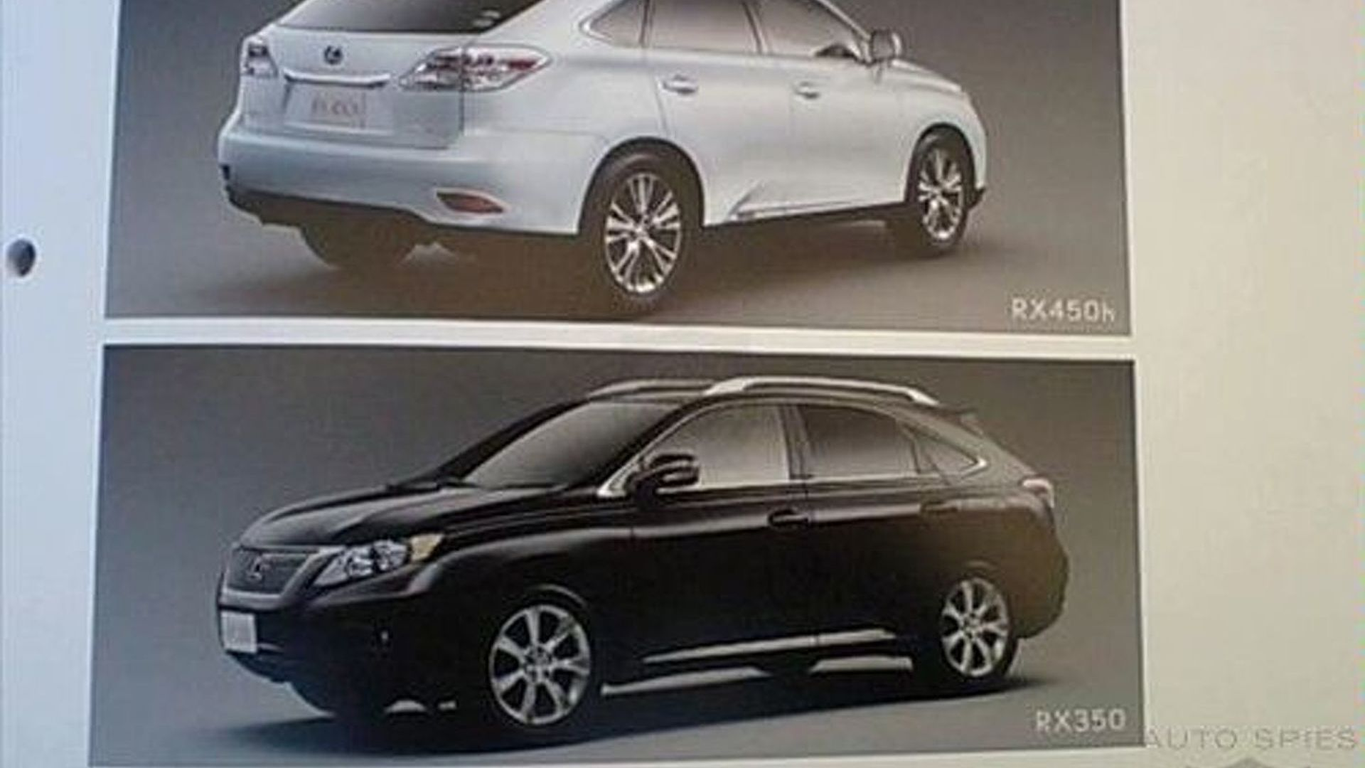 Lexus Rx And H Brochure Image on 2010 Lexus Rx 350 And 450h Brochure Images Leaked All New Generation