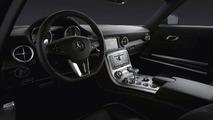Mercedes-Benz SLS AMG Gullwing interior - hi res
