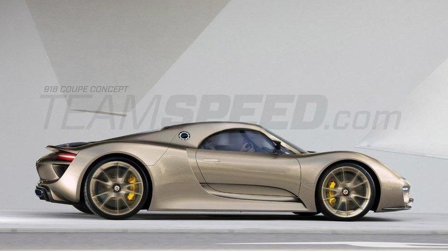 Porsche 918 Spyder rendered - model may debut in Detroit