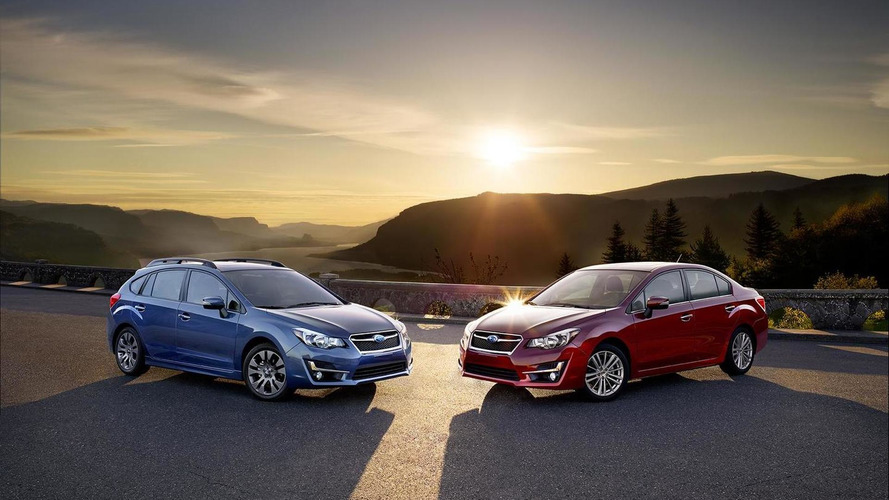 Facelifted Subaru Impreza priced from $18,195 in the U.S.