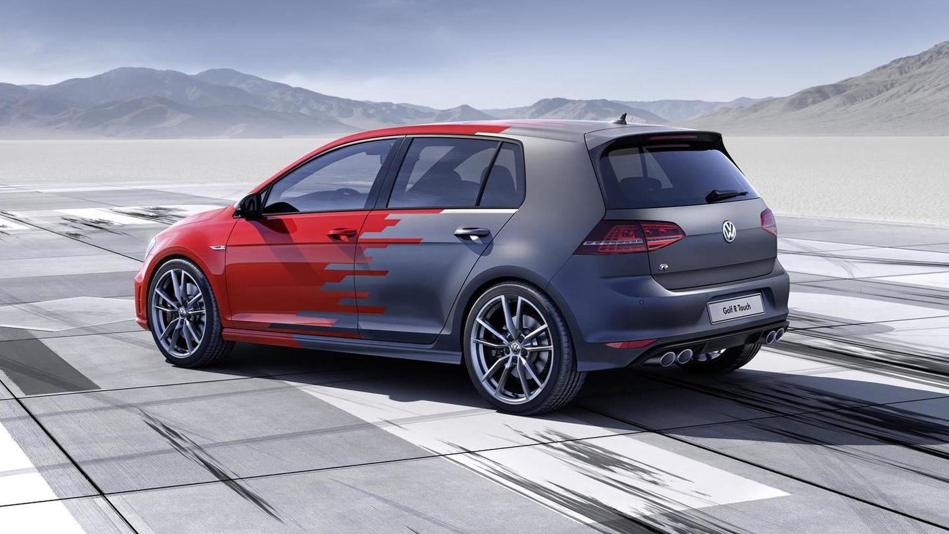 Хэтчбек Volkswagen Golf R Touch Concept 2015