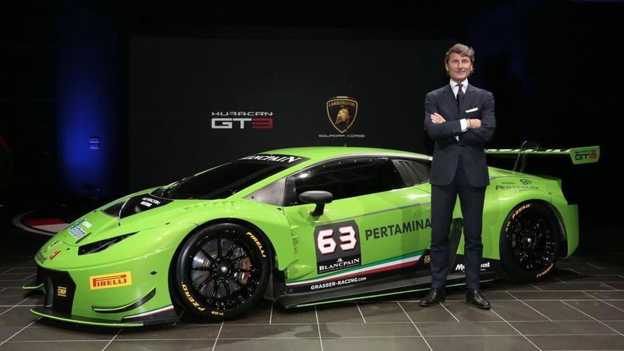 Lamborghini Huracan GT3 revealed