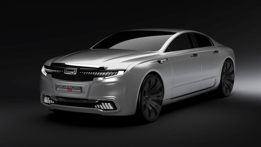 Qoros intern designs 9 Sedan concept as flagship model [video]