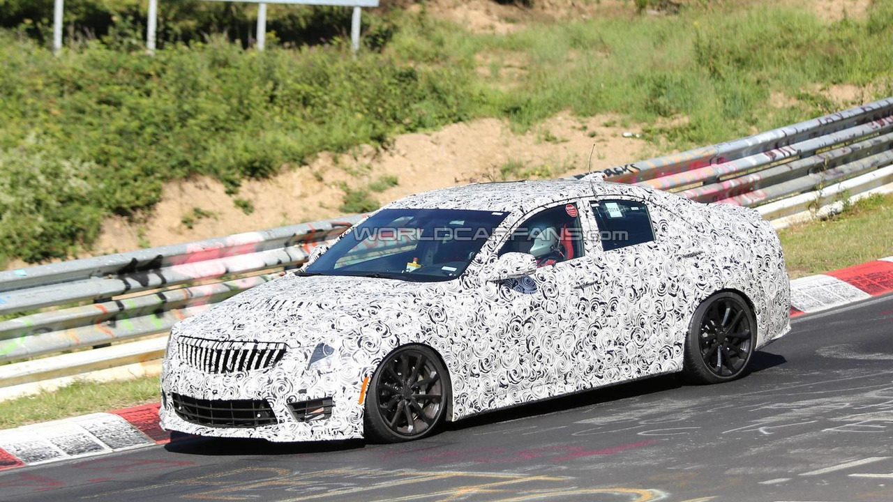 2016 Cadillac ATS-V Sedan spy photo