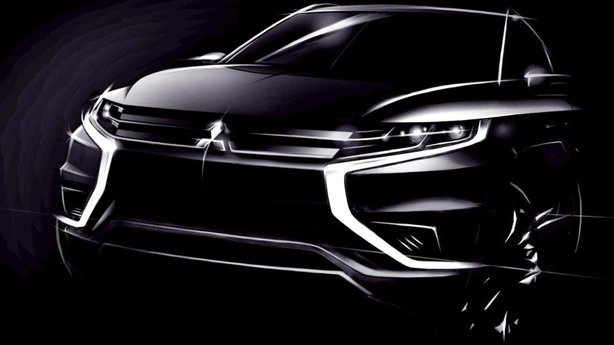 Mitsubishi Outlander PHEV Concept-S arrives in Paris