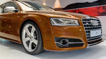 Audi S8 facelift in Ipanema Brown Metallic