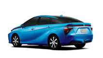 2015 Toyota FCV production body