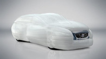 Volvo V40 air bag External Vehicle Protection system