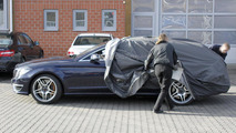2014 Mercedes CLS 63 AMG Shooting Brake spy photo