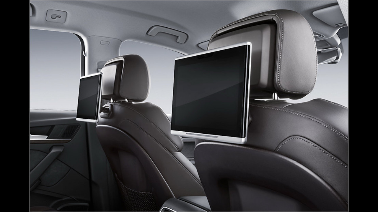 Interieur: Rear Seat Entertainment