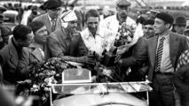 Tazio Nuvolari - Tazio Nuvolari (en la foto aparece con el casco blanco) es un caso especial, ya que no disputó el campeonato del mundo de F1 como tal, que no existía antes de la II Guerra mundial. Fue una de las leyendas del periodo de entre guerras, entre otras cosas por su victoria en el Gran Premio de Mónaco de 1932 con Alfa Romeo.  Photo by: LAT Images