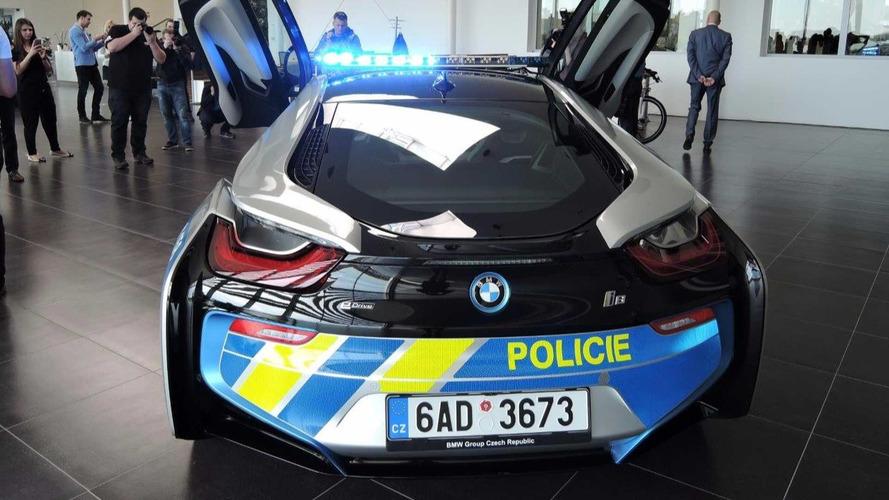 BMW i8 Police tchèque