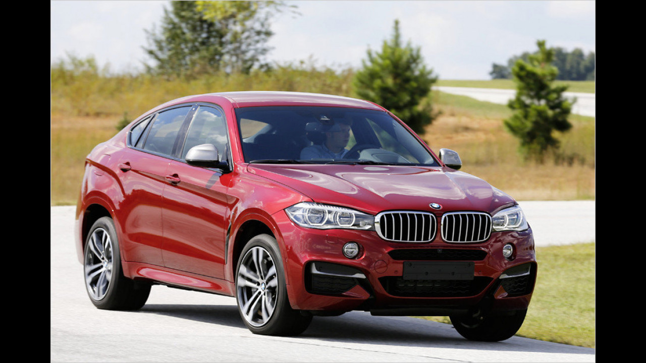 9. Platz: BMW X6 M50d