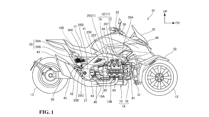 Honda Hybrid Electric Three-Wheeler On the Way?