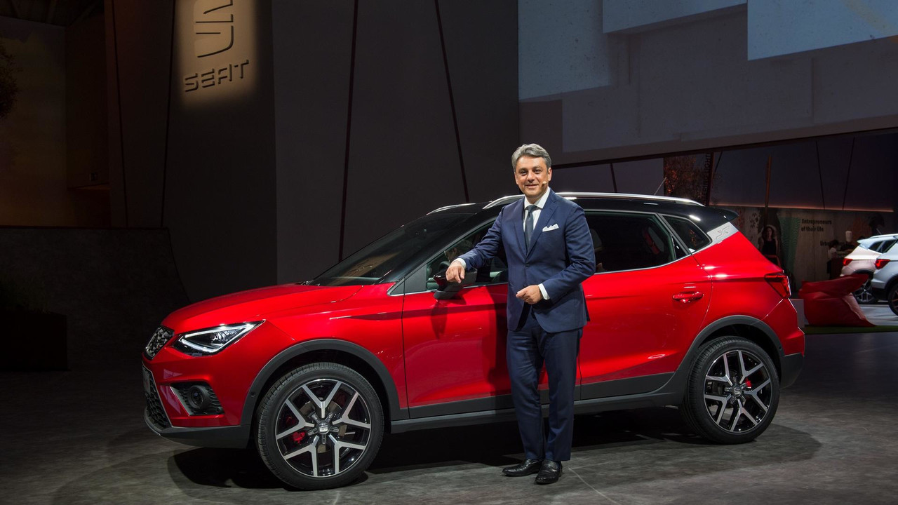 Chic 2018 Seat Arona Wants A Piece Of The Small Suv Pie