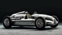 Auto Union Silver Arrow race car