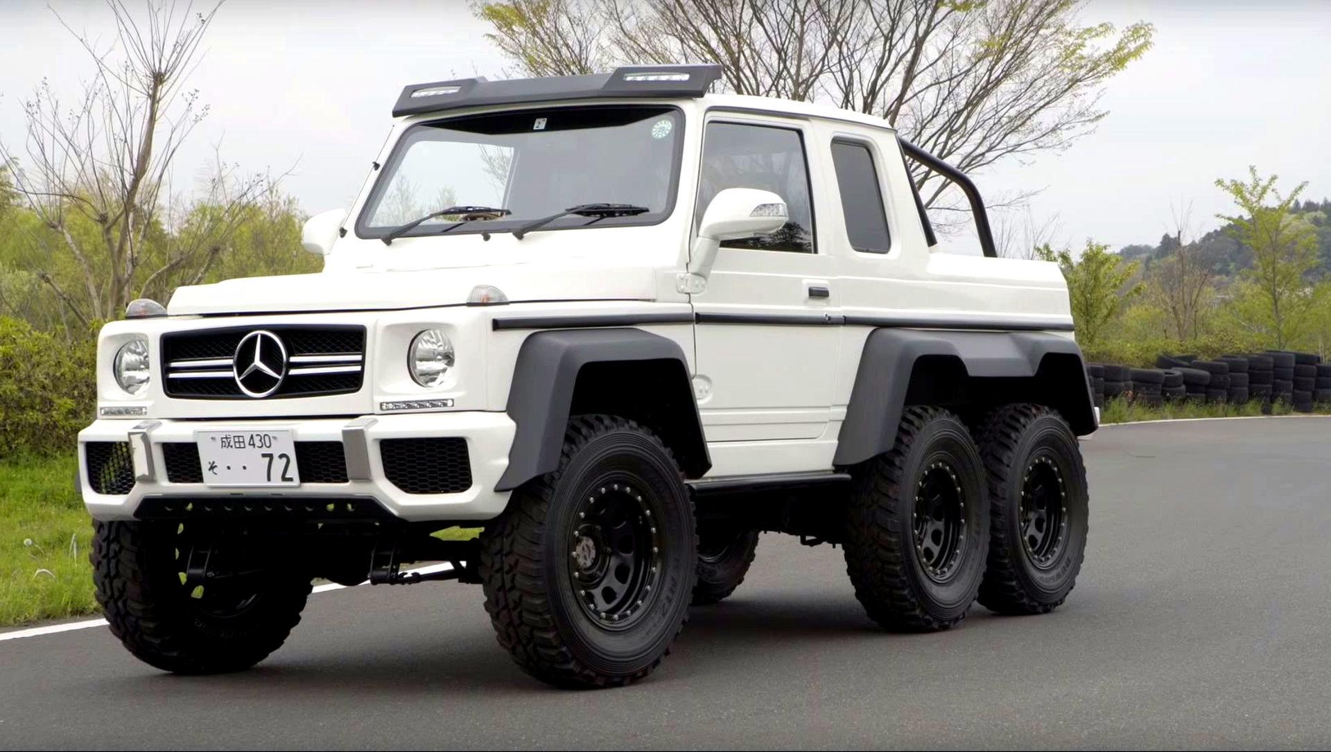 This mercedes g63 amg 6x6 clone is really a suzuki jimny for Mercedes benz g63 6x6 for sale