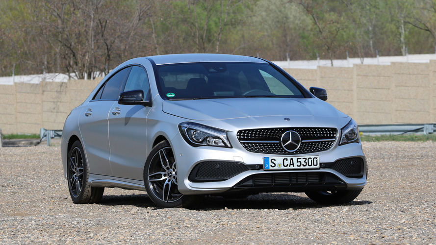 2017 mercedes benz cla250 first drive photo. Black Bedroom Furniture Sets. Home Design Ideas