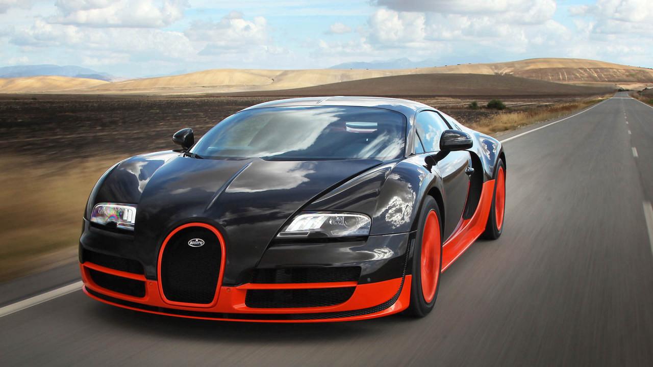 Bugatti Veyron (2005): erster Serienwagen über 400 km/h