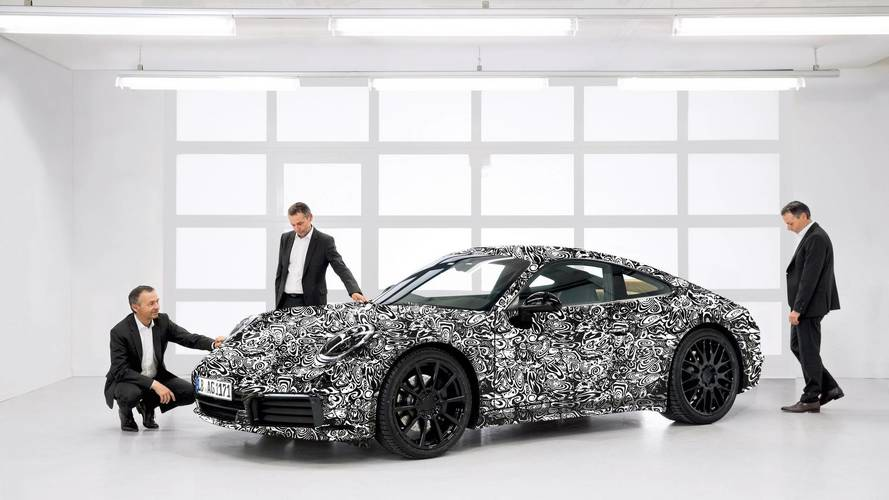 Porsche teases next-generation 911 in new images