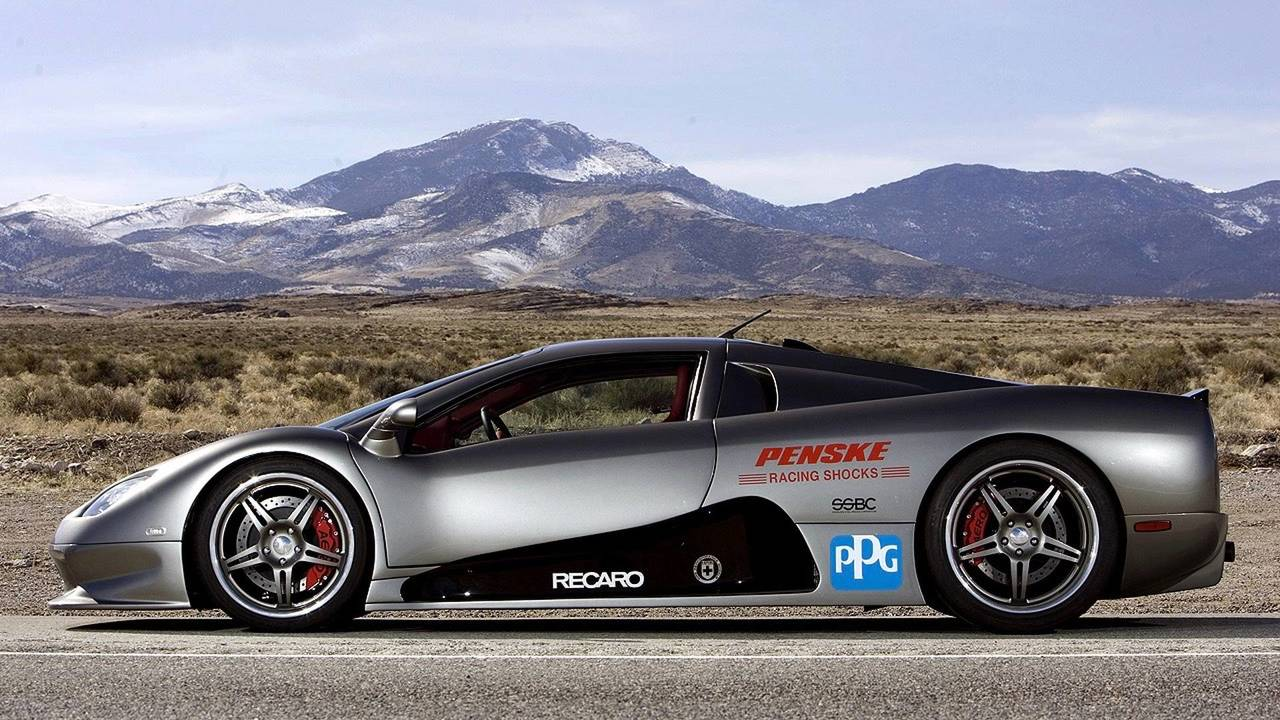 SSC Ultimate Aero - 256.1mph