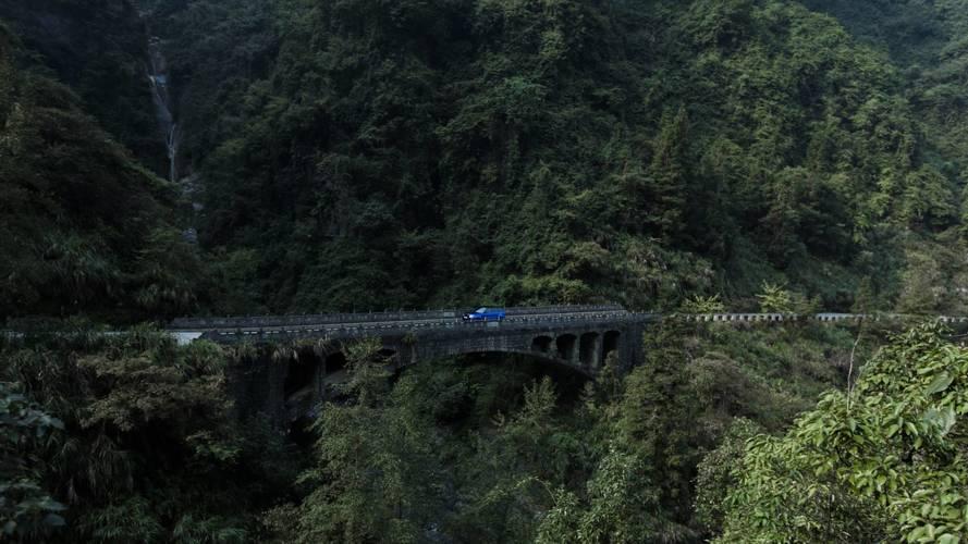 Range Rover Sport SVR - Tianmen Road Record