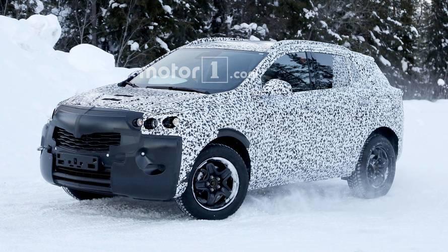 New Opel Mokka X Spied Probably Hiding PSA Platform