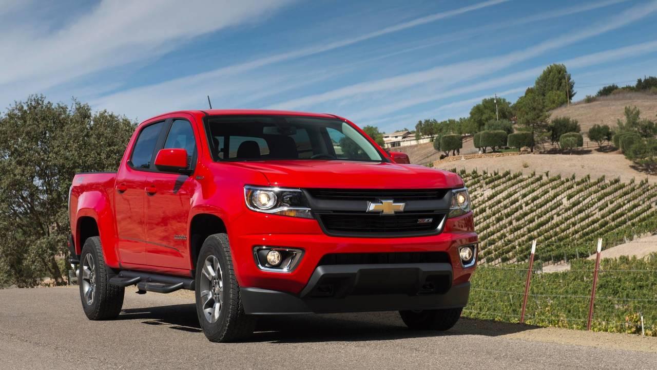 8. Chevrolet Colorado