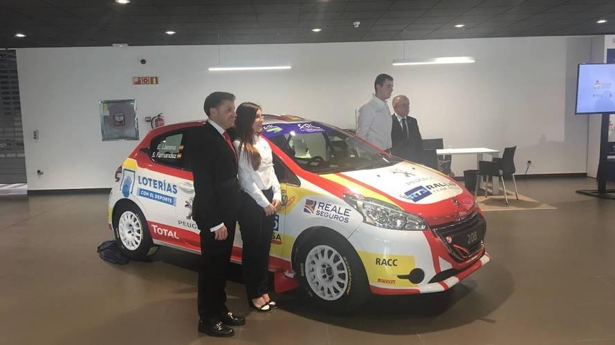 Peugeot Rally España ERC