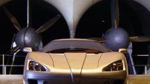 SSC Ultimate Aero TT in windtunnel