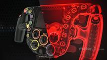 Porsche 919 Hybrid direksiyon